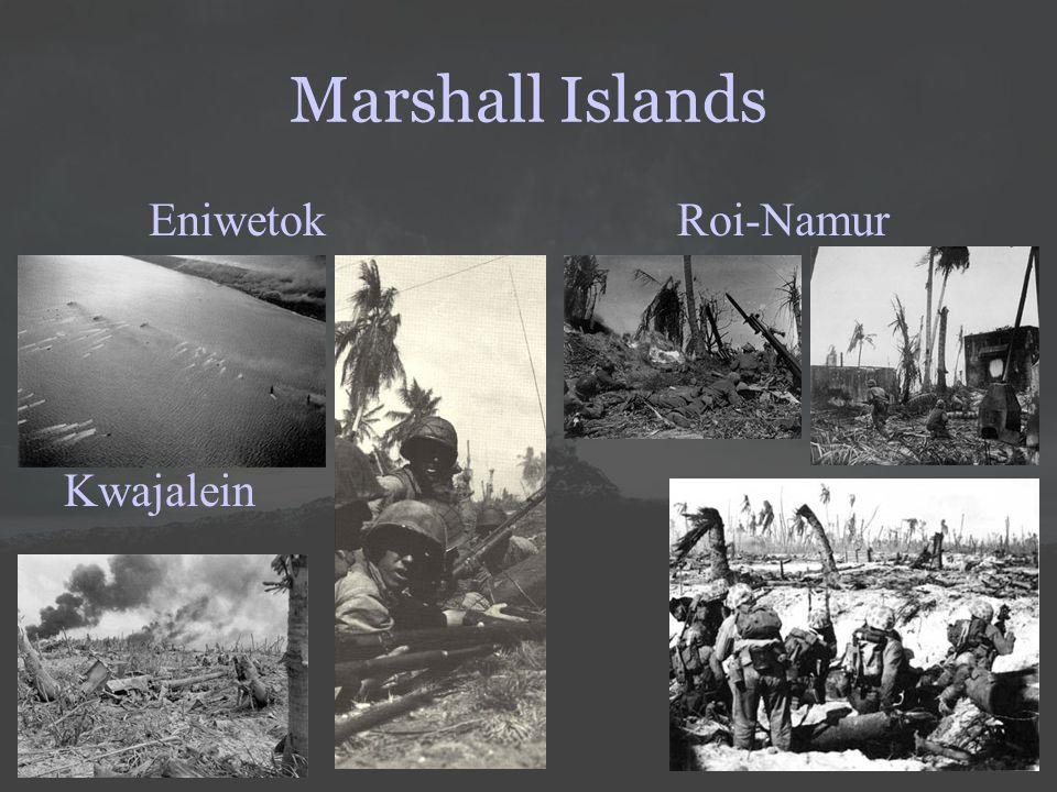 Marshall Islands EniwetokRoi-Namur Kwajalein