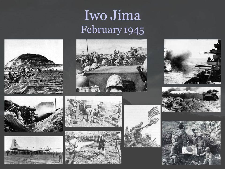 Iwo Jima February 1945