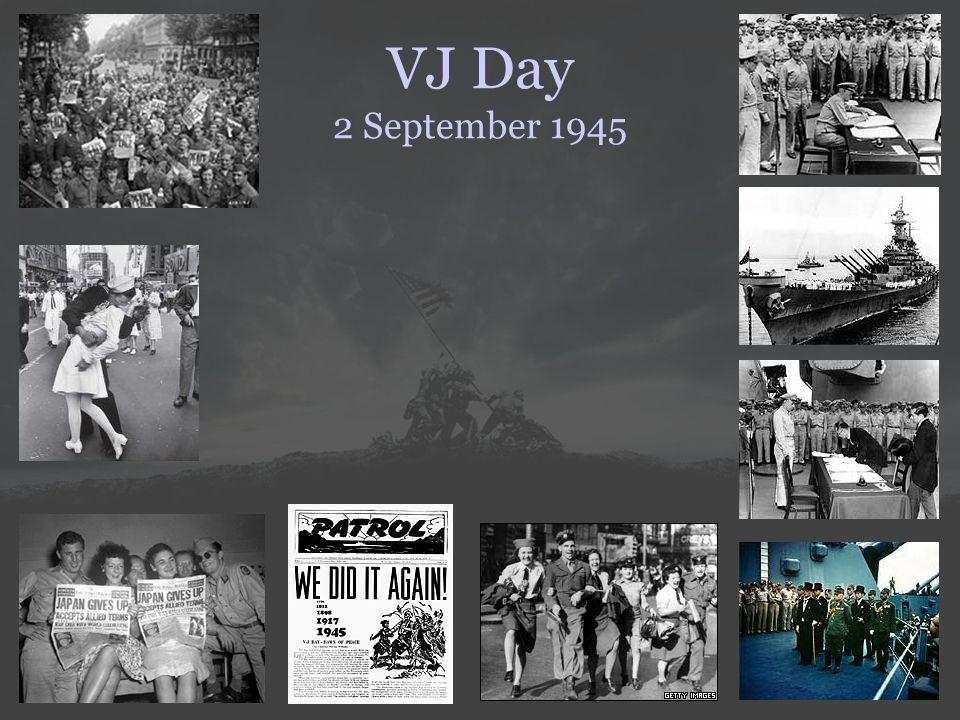 VJ Day 2 September 1945