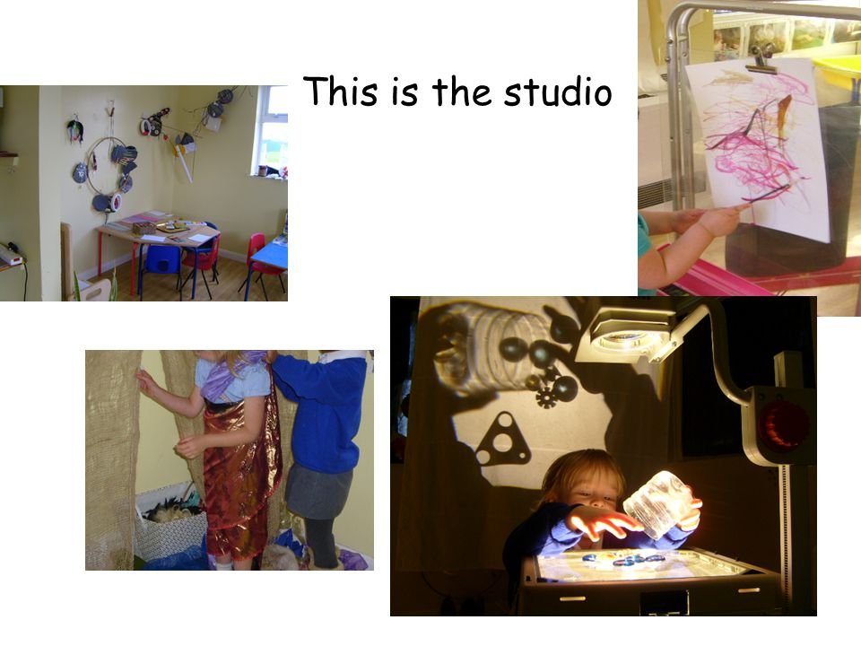 This is the studio