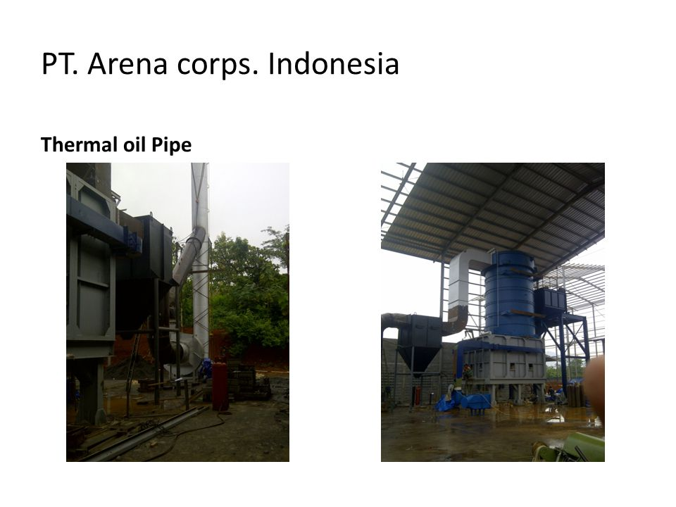 PT. Arena corps. Indonesia Thermal oil Pipe