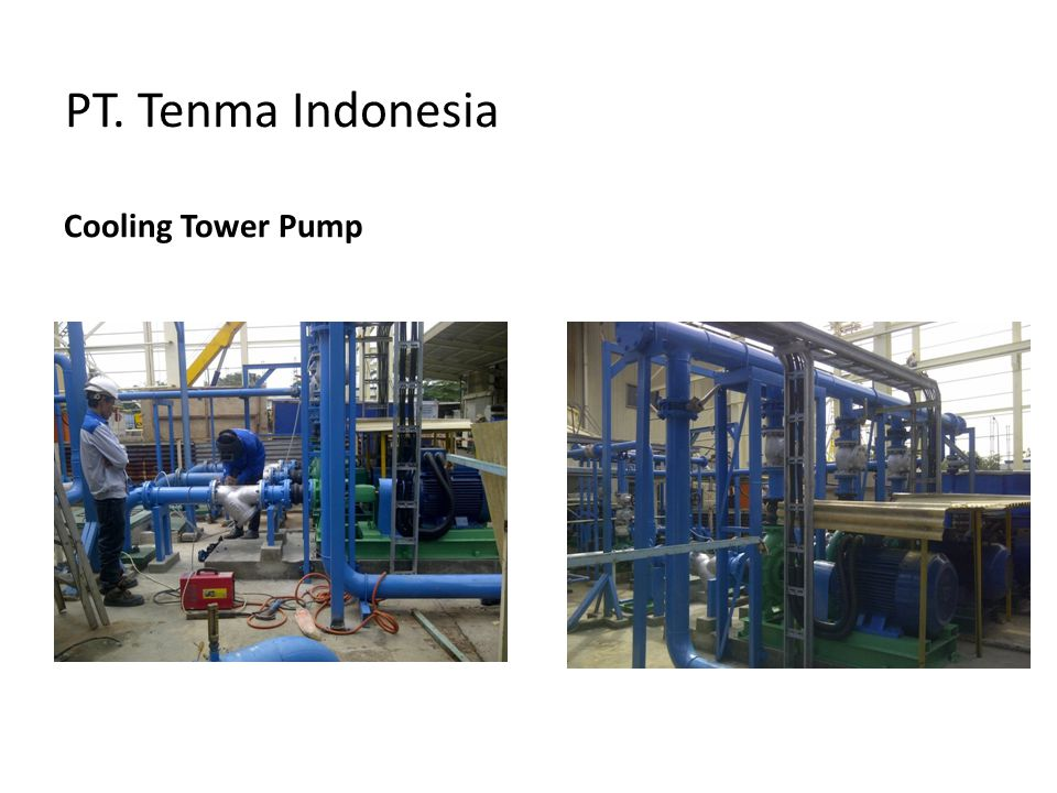 PT. Tenma Indonesia Cooling Tower Pump