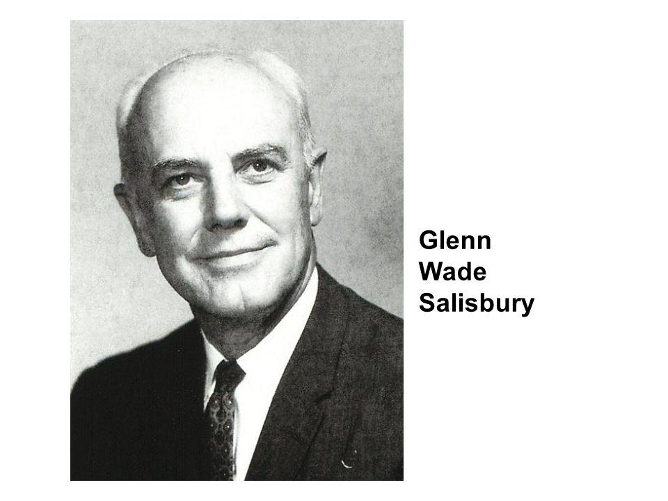 Glenn Wade Salisbury