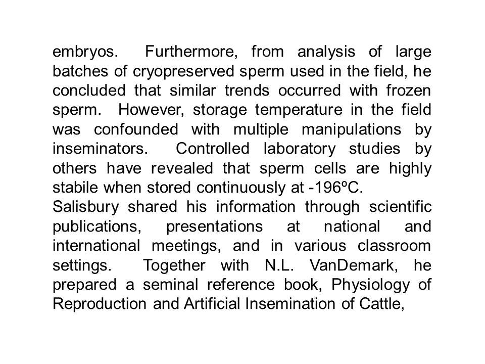 embryos.