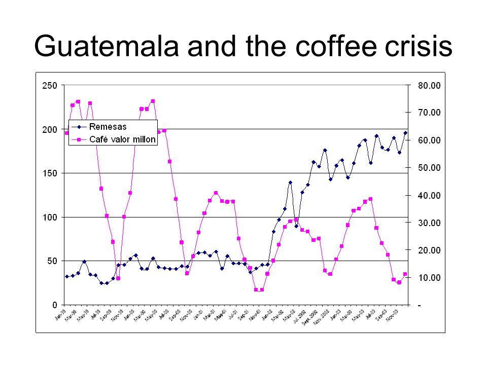 Guatemala and the coffee crisis