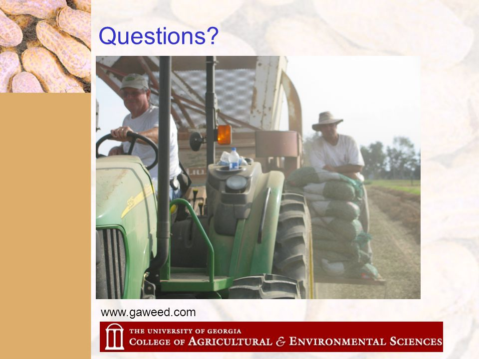 Questions? www.gaweed.com