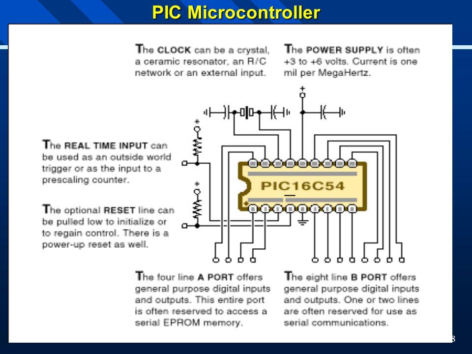 8 PIC Microcontroller