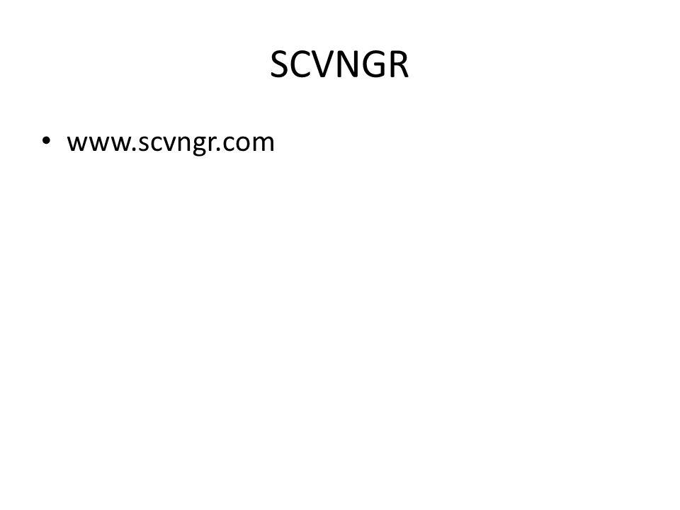 SCVNGR www.scvngr.com
