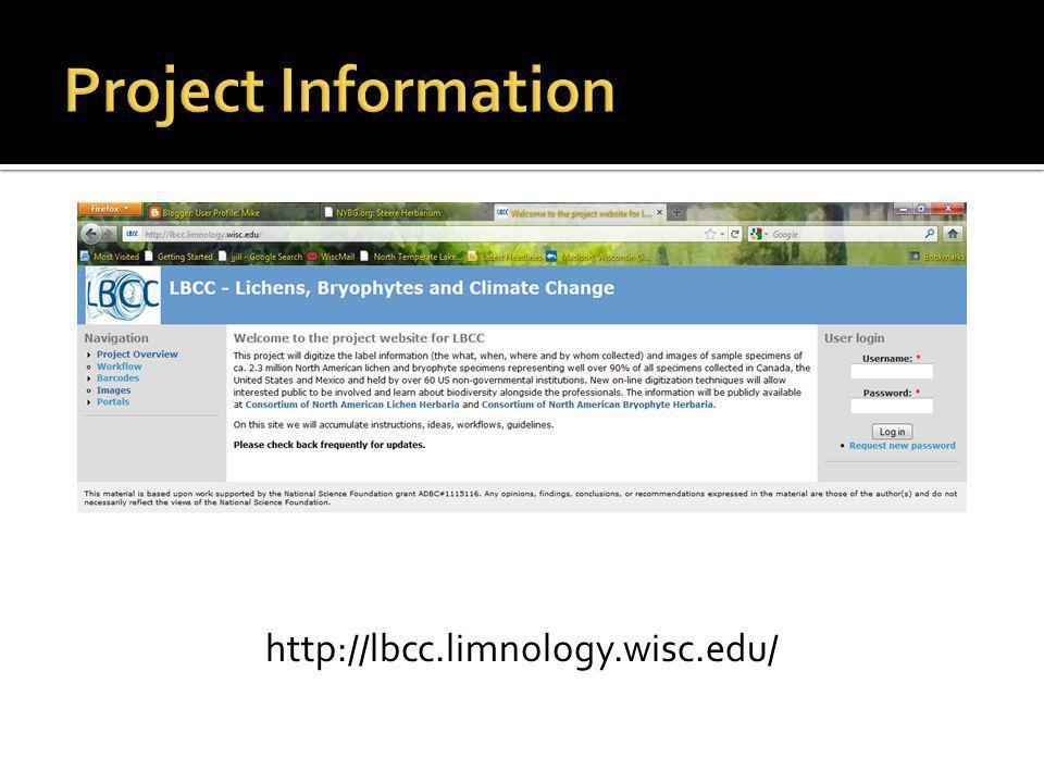 http://lbcc.limnology.wisc.edu/
