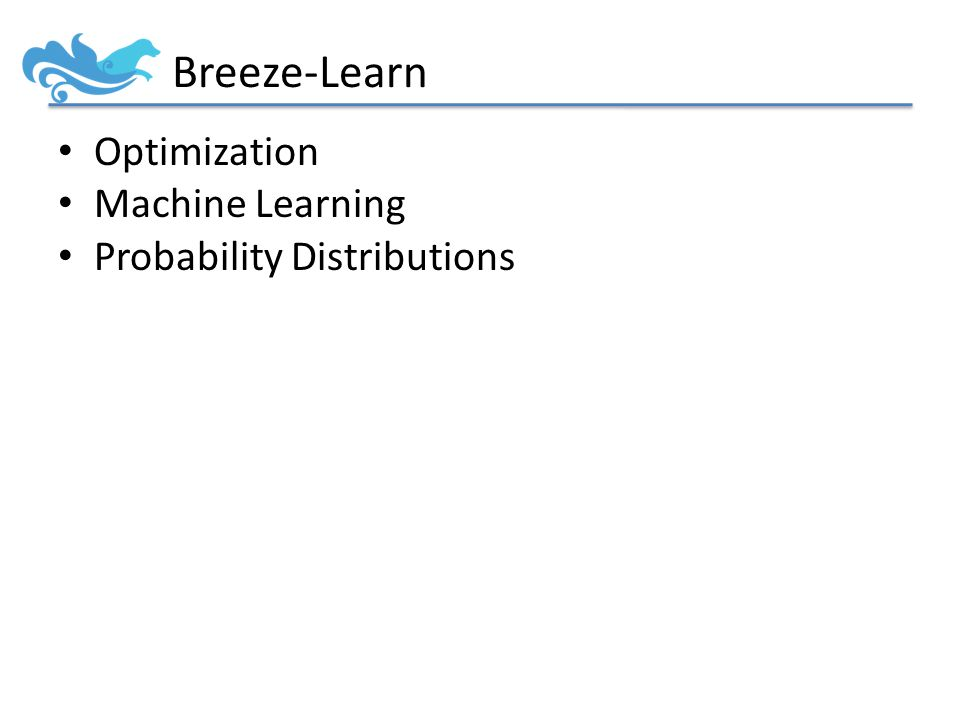 Optimization Machine Learning Probability Distributions