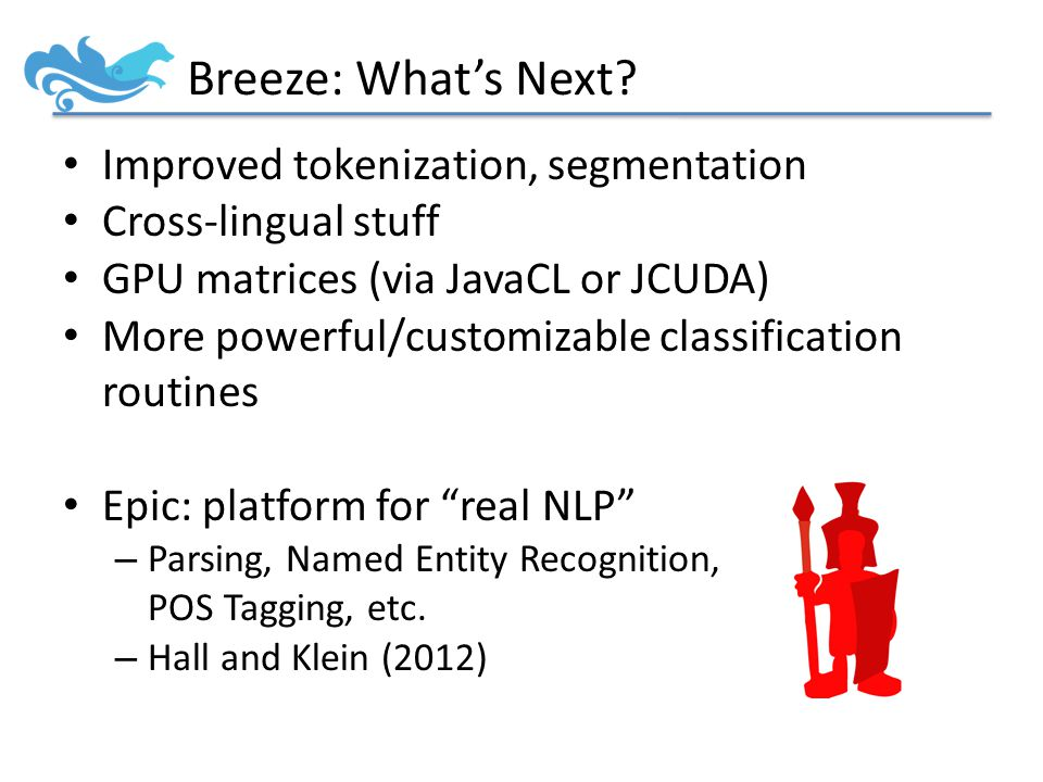 Breeze: What's Next.