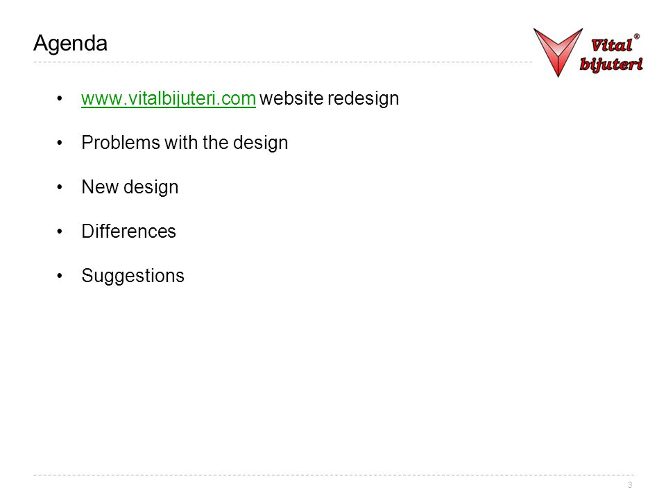 14 Suggestions New logo Getting the domain name http://vitalbijuteri.comhttp://vitalbijuteri.com