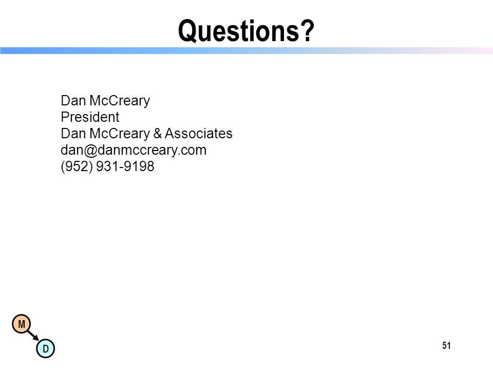 M D 51 Questions.