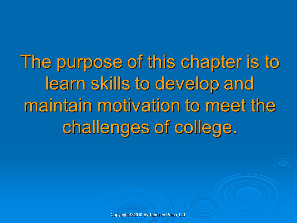 Copyright © 2010 by Tapestry Press, Ltd.6. Create new and positive self-talk.