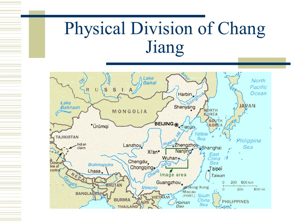 Physical Division of Chang Jiang