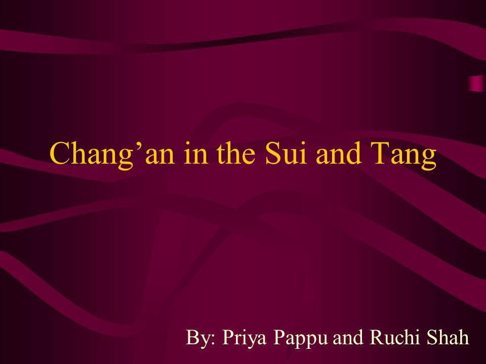 Buddhist Representation of Chang'an