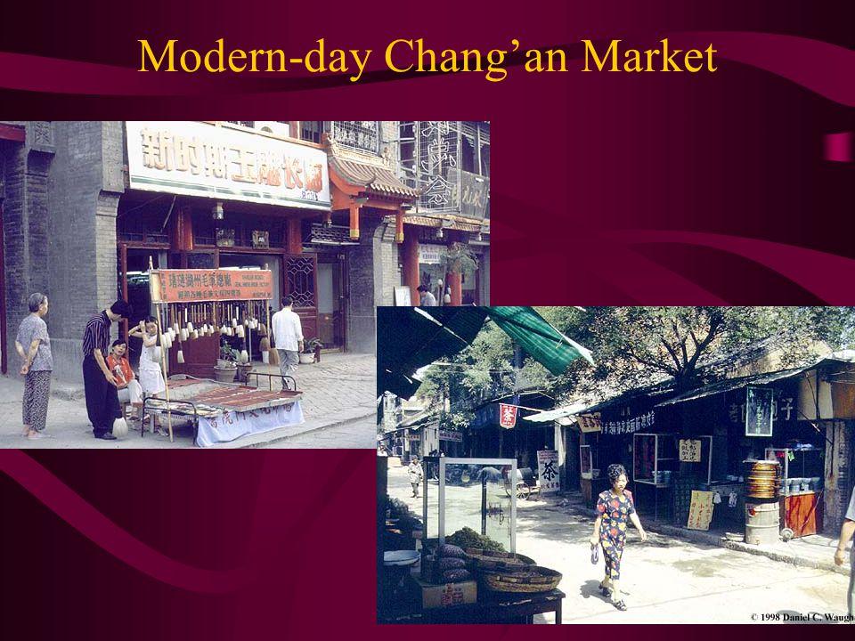 Modern-day Chang'an Market