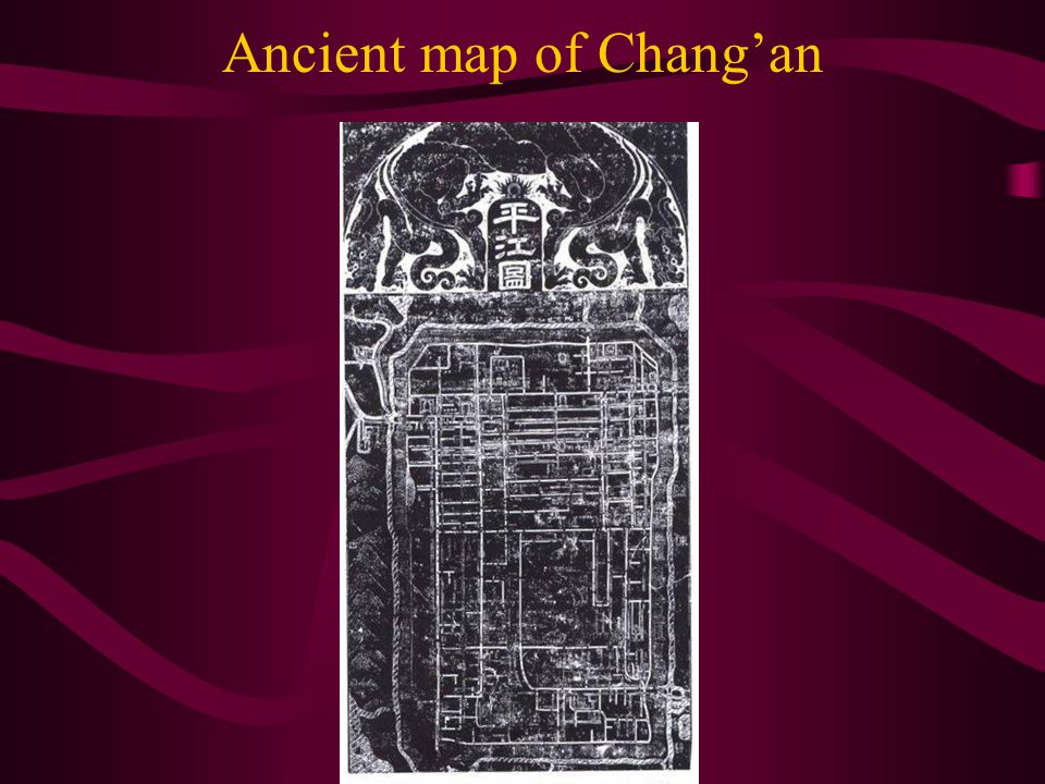 Ancient map of Chang'an