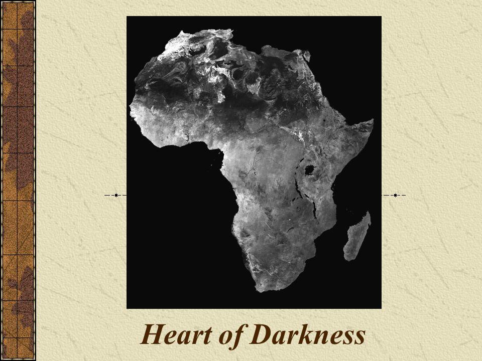 Contrasts in Heart of Darkness Light vs.Dark Heavy vs.