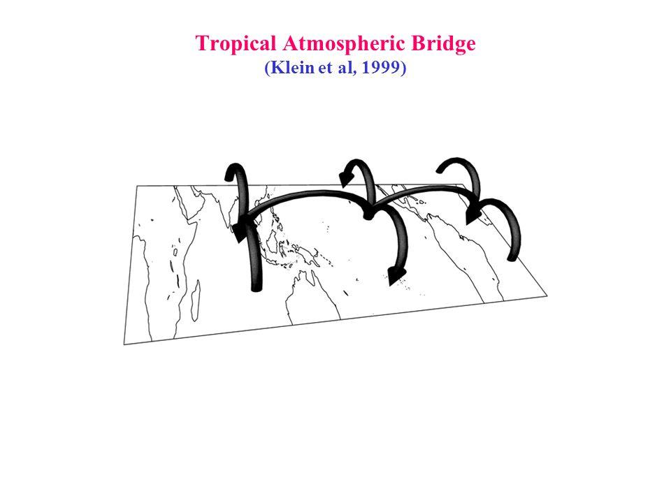 Tropical Atmospheric Bridge (Klein et al, 1999)