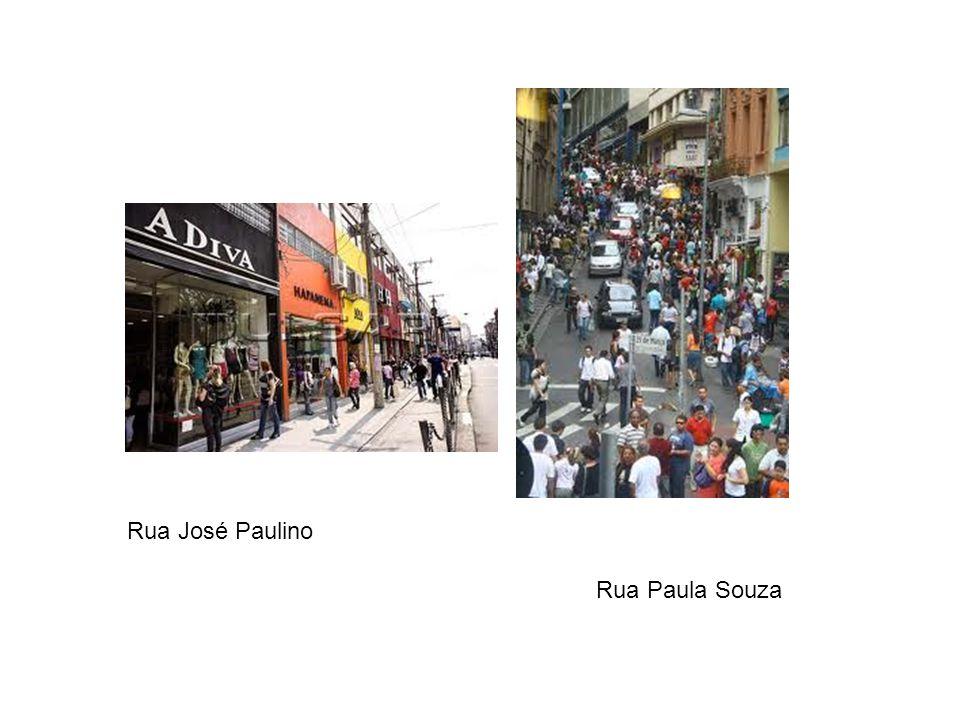 Rua José Paulino Rua Paula Souza