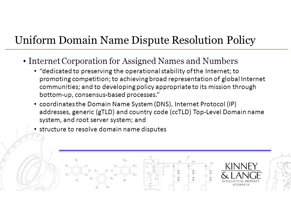 "Uniform Domain Name Dispute Resolution Policy Internet Corporation for Assigned Names and Numbers ""dedicated to preserving the operational stability o"
