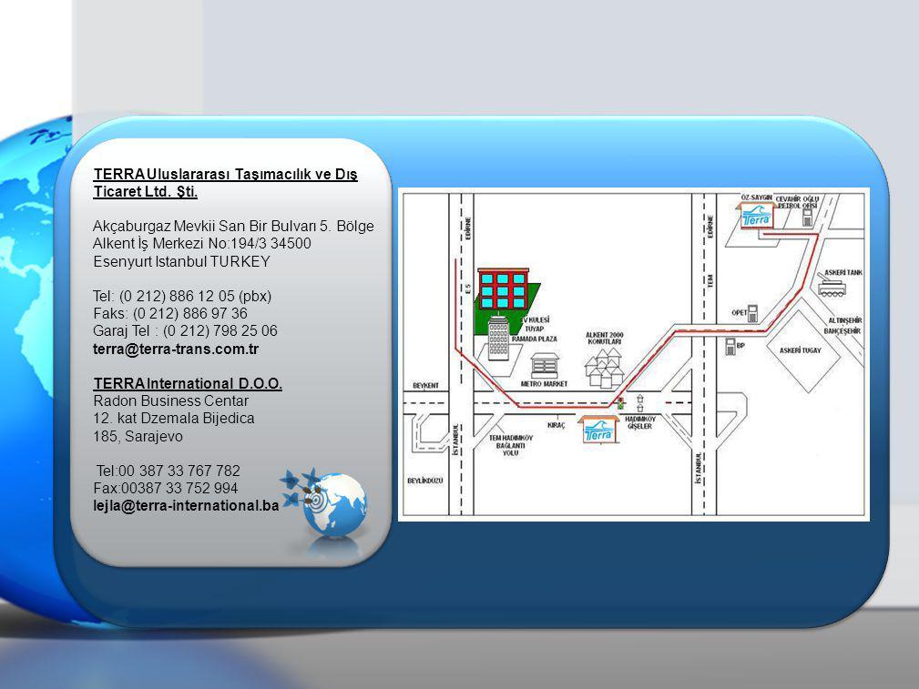 TERRA Uluslararası Taşımacılık ve Dış Ticaret Ltd.
