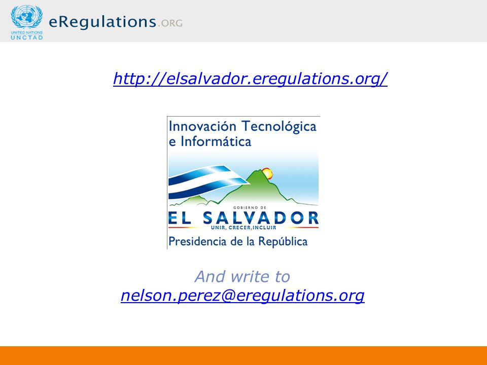 http://elsalvador.eregulations.org/ And write to nelson.perez@eregulations.org