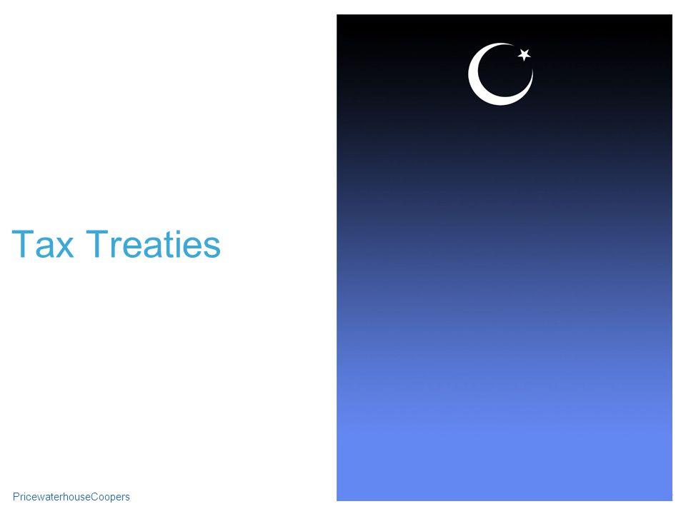 PricewaterhouseCoopersSlide 22 Tax Treaties