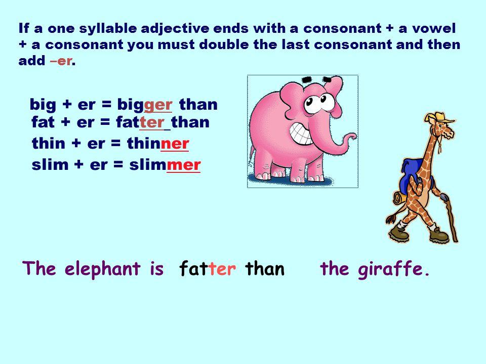 big Elephants are dogs.bigger than