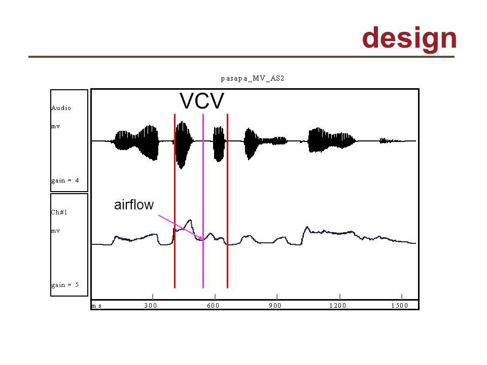 design VCV airflow