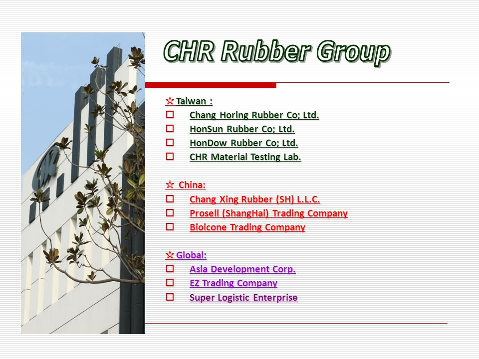 CHR Group 13 Offices Set now