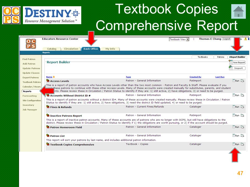 47 Textbook Copies Comprehensive Report