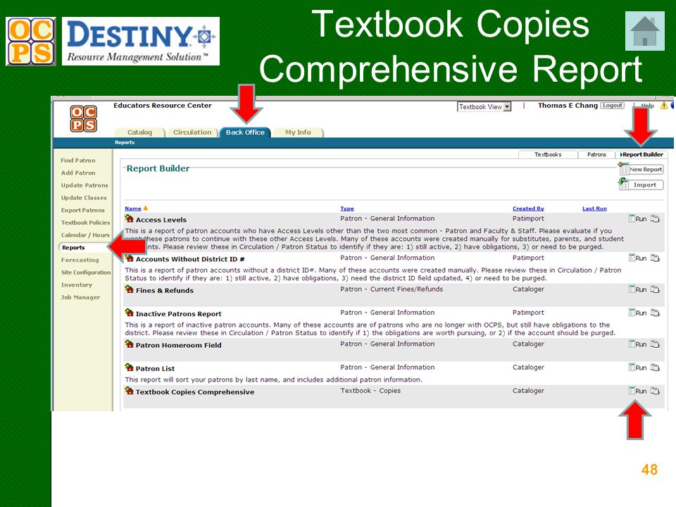 48 Textbook Copies Comprehensive Report