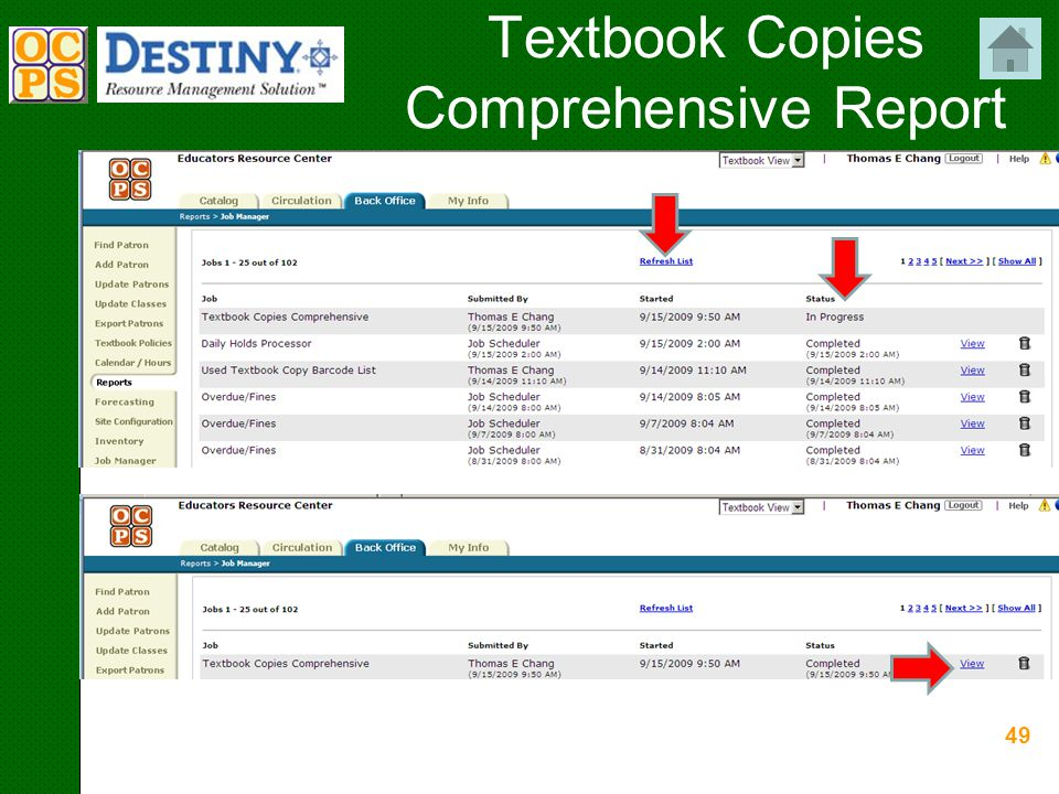 49 Textbook Copies Comprehensive Report