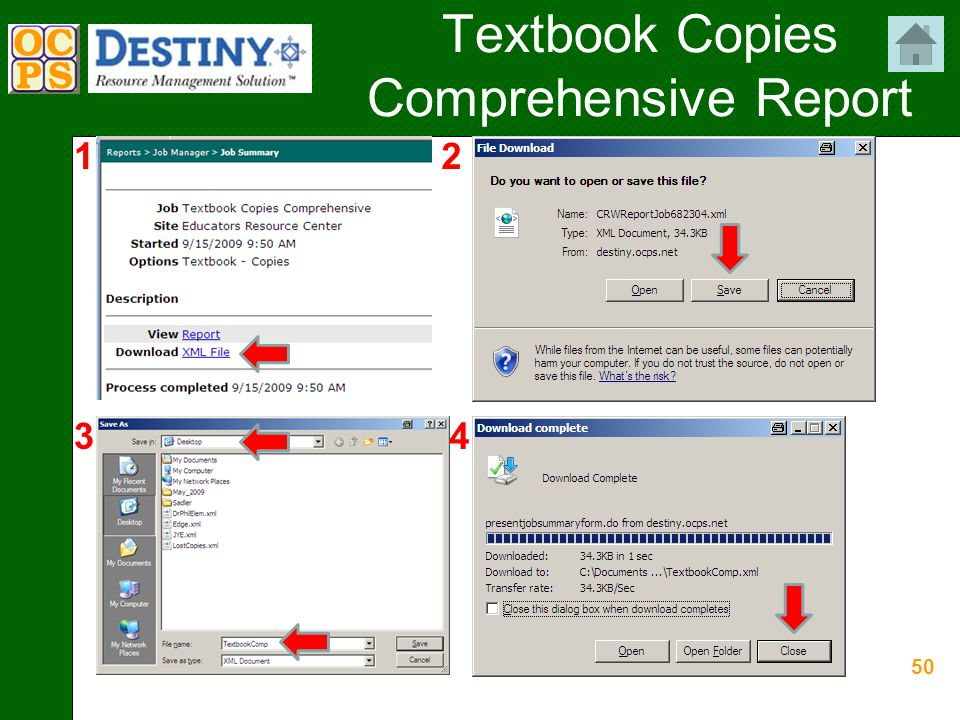50 Textbook Copies Comprehensive Report 12 34