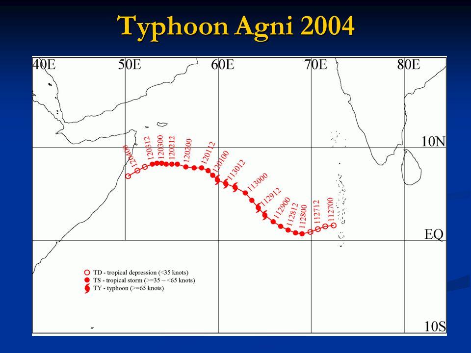 Typhoon Agni 2004