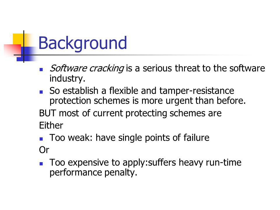 Background What characteristics of a security system should have.