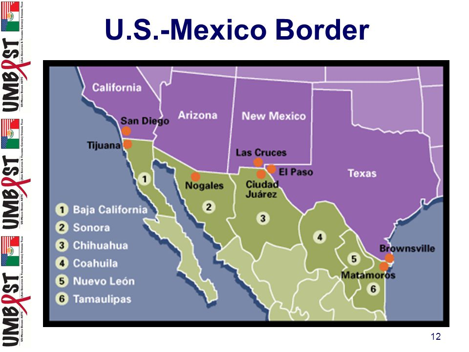 12 U.S.-Mexico Border