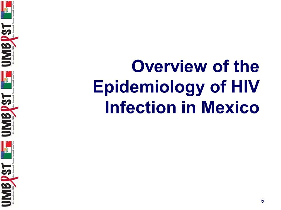 5 Overview of the Epidemiology of HIV Infection in Mexico