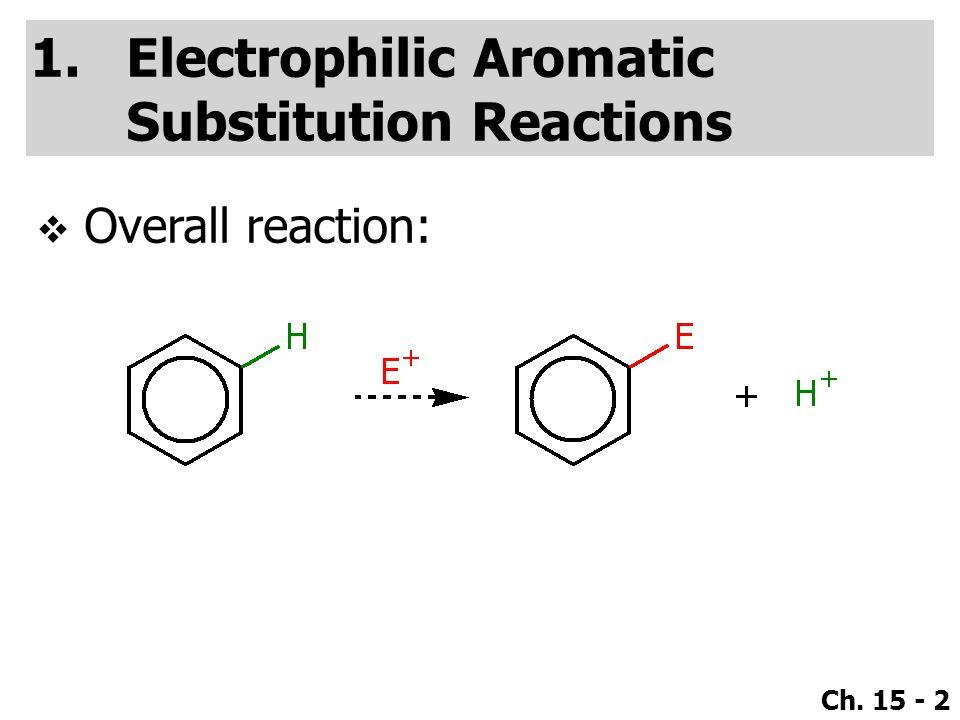 Ch. 15 - 83  Regiochemistry: (extra resonance structure due to resonance of –Cl).