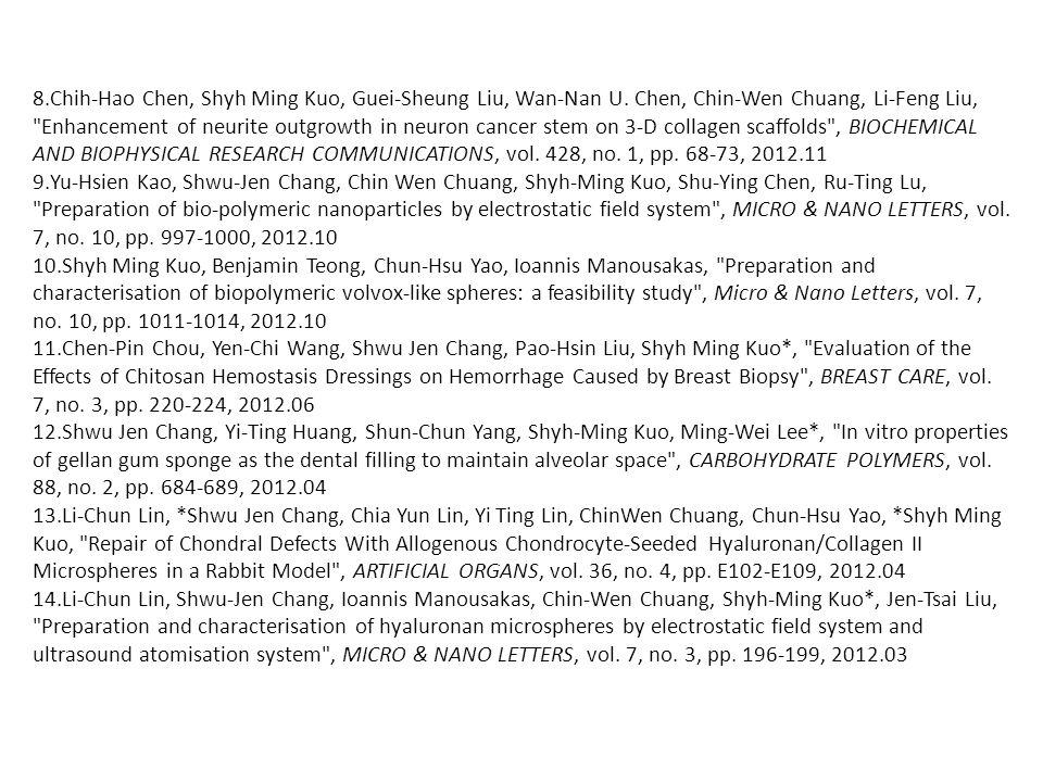 8.Chih-Hao Chen, Shyh Ming Kuo, Guei-Sheung Liu, Wan-Nan U.