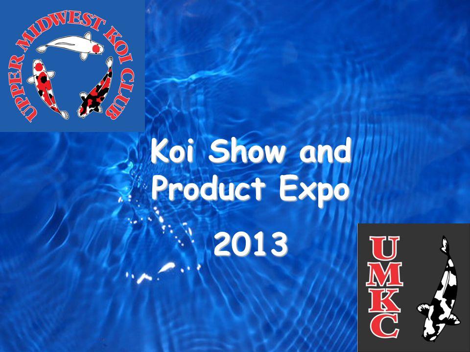 Club Logo Koi Show and Product Expo 2013