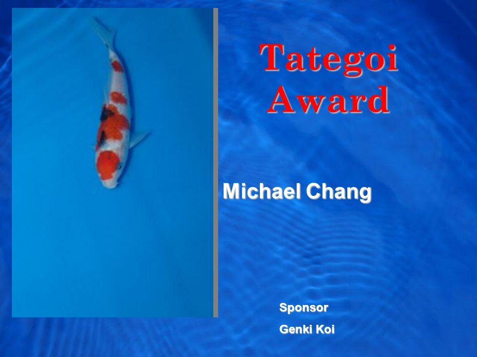 Tategoi Award Michael Chang Sponsor Genki Koi