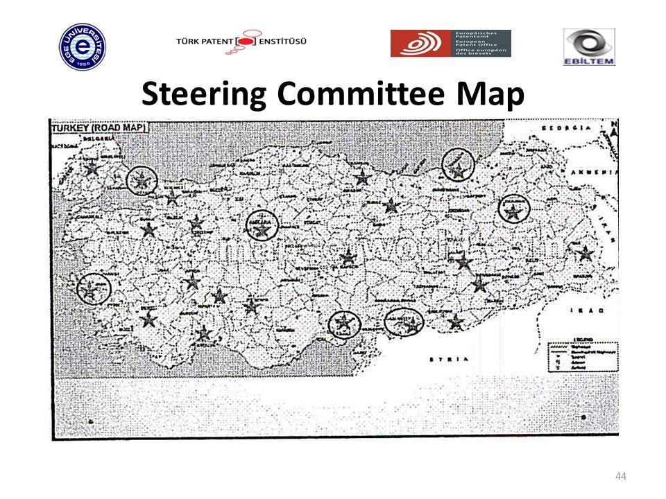 Steering Committee Map 44