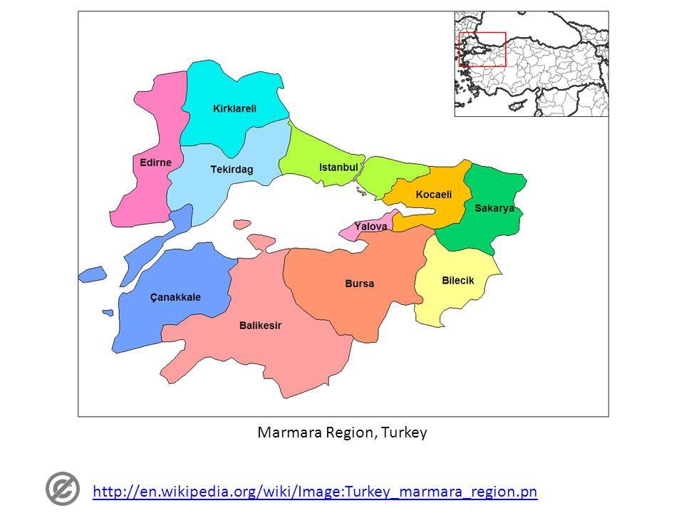 Marmara Region, Turkey http://en.wikipedia.org/wiki/Image:Turkey_marmara_region.pn