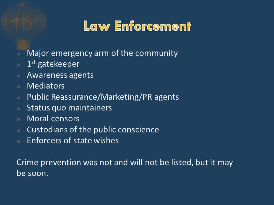  750,000 sworn officers  400,000 PSO  17,500 agencies
