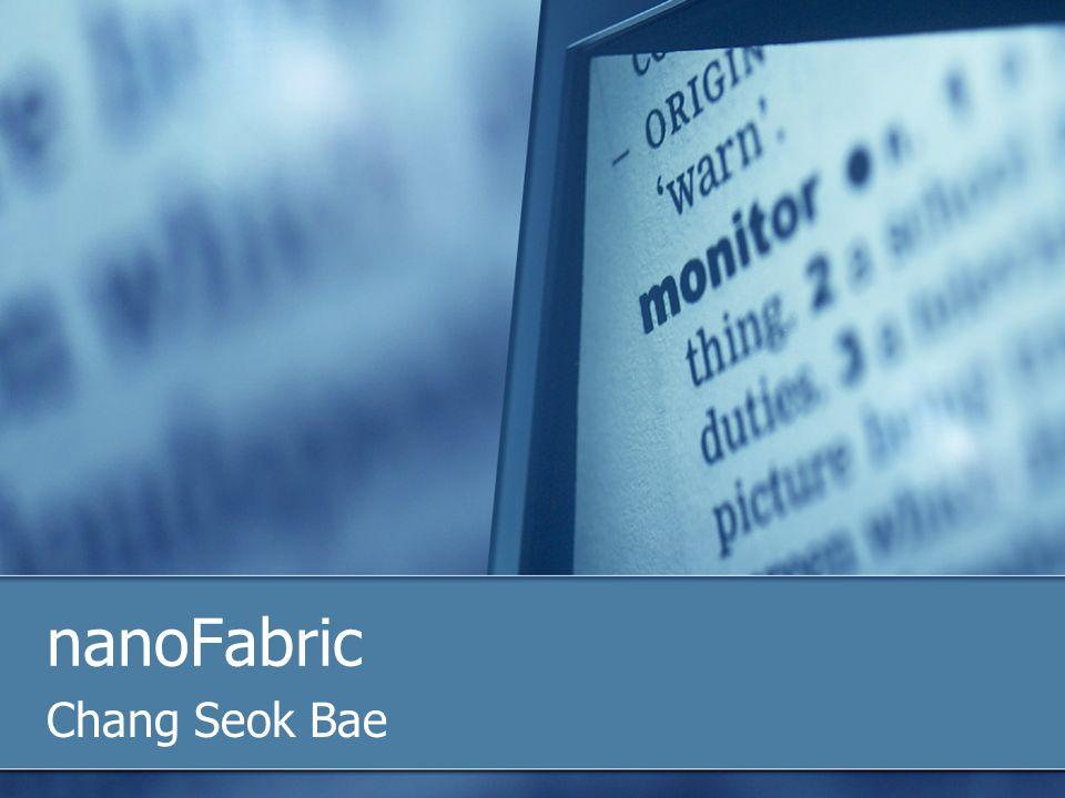 nanoFabric Chang Seok Bae