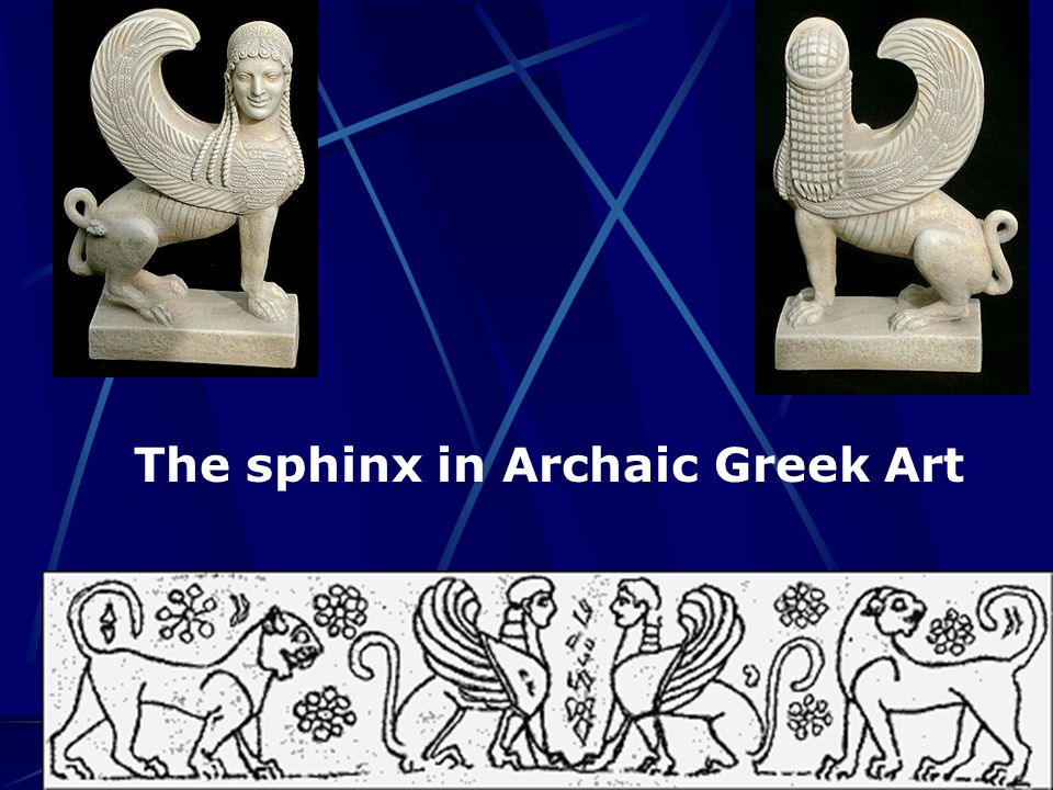 The sphinx in Archaic Greek Art