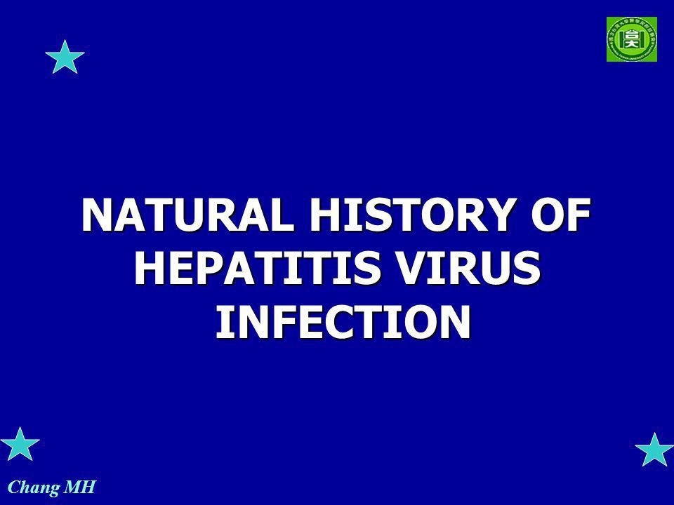 Chang MH NATURAL HISTORY OF HEPATITIS VIRUS INFECTION